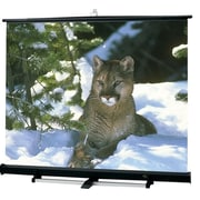 "Draper® 211009 Luma 120"" 2/R Portable Projection Screen, 4:3, Screen Only"