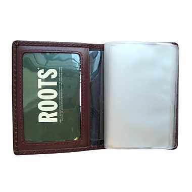 Roots License Case Holder , Red