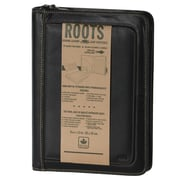 Roots Leather Unisex Business Portfolio, Black