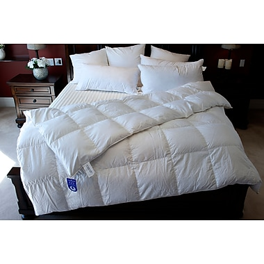 Royal Elite Hungarian Goose Down Duvet, 260 Thread Count, Twin, 30 Ounces