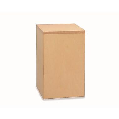 Whitney Plus Birch Laminate Corner Filler Cabinet, Natural