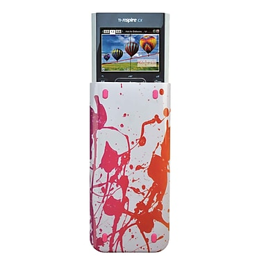 Guerrilla® Themed Slide Case For TI Nspire CX&CX CAS Graphing Calculator, Splash