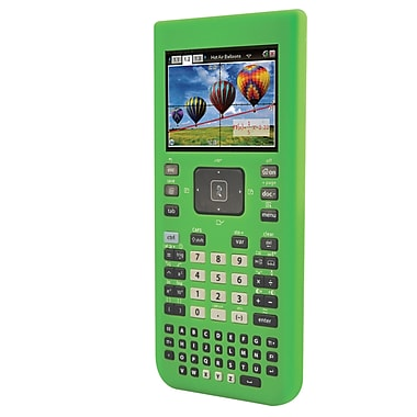 Guerrilla® Silicone Case For Texas Instruments TI Nspire CX& CX CAS Graphing Calculator, Green