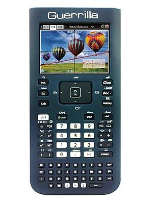 Guerrilla® Silicone Case For Texas Instruments TI Nspire CX& CX CAS Graphing Calculator, Navy