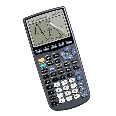 Guerrilla® Military Grade Screen Protector For TI 83 Plus Graphing Calculator, 10/Pack