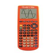 Guerrilla® Silicone Case For Texas Instruments TI 83 Plus Graphing Calculator, Orange