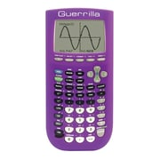 Guerrilla® Silicone Case For Texas Instruments TI 84 Plus Graphing Calculator, Purple