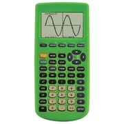 Guerrilla® Silicone Case For Texas Instruments TI 83 Plus Graphing Calculator, Green