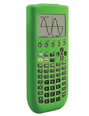 Guerrilla® Silicone Case For Texas Instruments TI 89 Titanium Graphing Calculator, Green