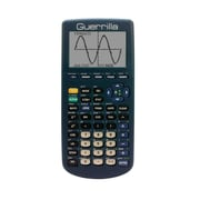 Guerrilla® Silicone Case For Texas Instruments TI 83 Plus Graphing Calculator, Navy