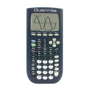 Guerrilla® Silicone Case For Texas Instruments TI 84 Plus Graphing Calculator, Navy