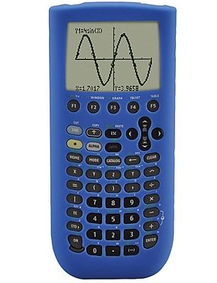 Guerrilla® Silicone Case For Texas Instruments TI 89 Titanium Graphing Calculator, Blue