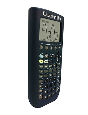 Guerrilla® Silicone Case For Texas Instruments TI 89 Titanium Graphing Calculator, Navy