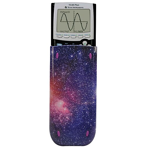 Guerrilla® Themed Slide Case For TI 84 Plus/C Silver Edition/TI 89 Titanium  Calculator, Starbursts