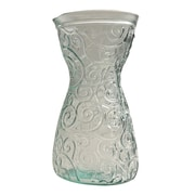 French Home Mediterranean Wave 40-ounce Ice Clear Decanter; Ice Clear