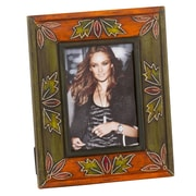 Modern Day Accents Painted / Embossed Picture Frame
