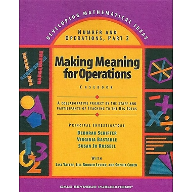 Making Meaning for Operations: Casebook