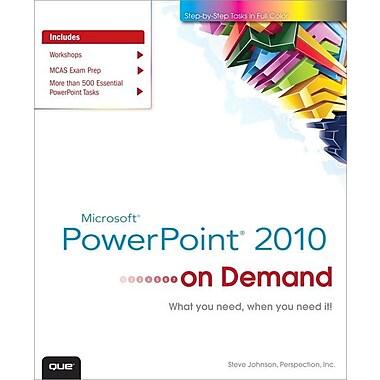 Microsoft PowerPoint 2010 on Demand