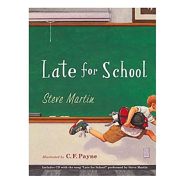 Late for School [With CD (Audio)]