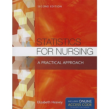 Statistics for Nursing with Online Access Code: A Practical Approach