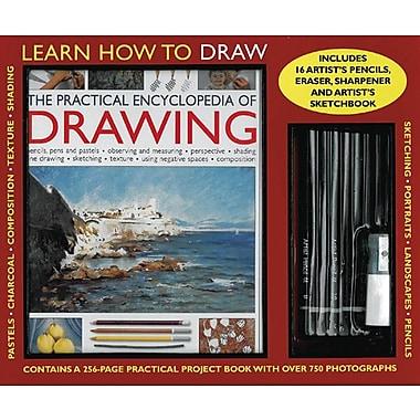 A 256-Page Instruction Book, 15 Artist S Pencils, Eraser, Sharpener and Artist's Sketchbook