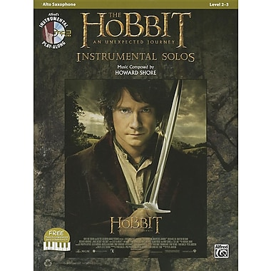 The Hobbit: An Unexpected Journey Instrumental Solos: Alto Saxophone [With CD (Audio)]