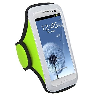 Insten® Vertical Pouch Universal Sport Armband For ZTE N9500/N9120, Light Green