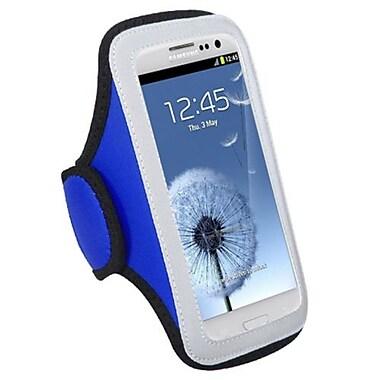 Insten® Vertical Pouch Universal Sport Armband For Motorola XT894 Droid 4, Dark Blue