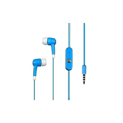 Insten® 10mW Stereo Headset For iPod touch/Nano, Sky Blue