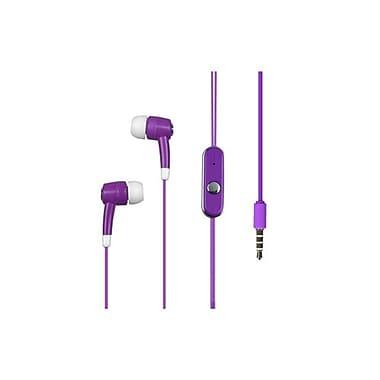 Insten - Écouteurs filaires MYBAT 1016710, violet (1016710)