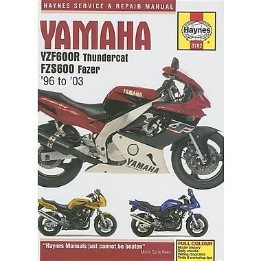 Yamaha YZF600R Thundercat FZS600 Fazer: 96 to '03