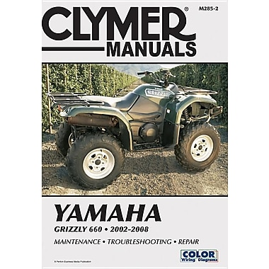 Clymer Yamaha Grizzly 660, 2002-2008