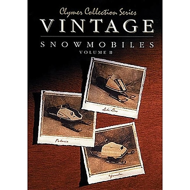 Clymer Collection Series: Vintage Snowmobiles Volume 2