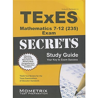 Texes Mathematics 7-12 (235) Secrets Study Guide