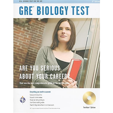 GRE Biology Test, Testware Edition [With CDROM]