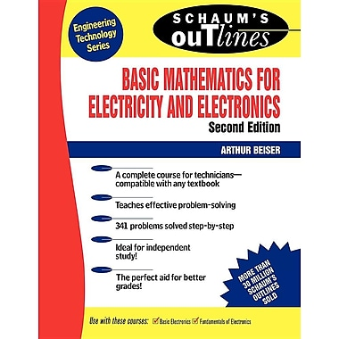 Schaum's Outline of Basic Mathematics for Electricity and Electronics