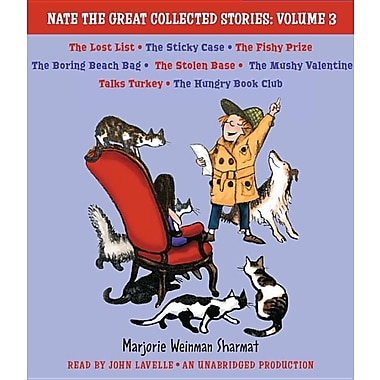 Nate the Great Collected Stories, Volume 3