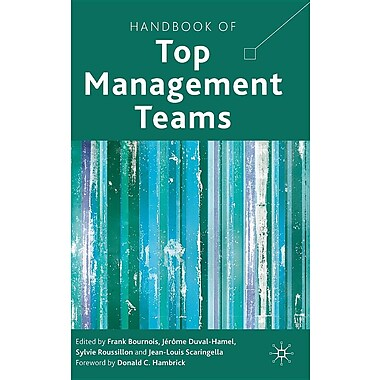 Handbook of Top Management Teams
