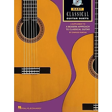 Easy Classical Guitar Duets: Book/CD Pack