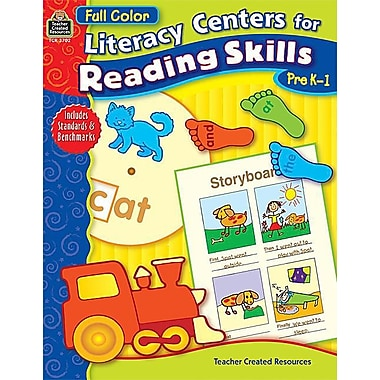 Literacy Centers for Reading Skills Pre K-1