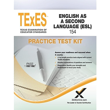 Texes English as a Second Language (ESL) 154 Practice Test Kit