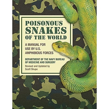 Poisonous Snakes of the World: A Manual for Use by U.S. Amphibious Forces