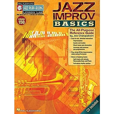 Jazz Improv Basics: The All-Purpose Reference Guide [With CD (Audio)]