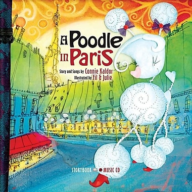 A Poodle in Paris [With Audio CD]