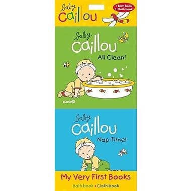 Baby Caillou: My Very First Books: All Clean! & Nap Time