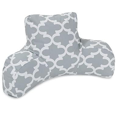 Majestic Home Goods Trellis Cotton Bed Rest Pillow