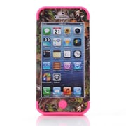 IPM Camouflage RealTree Rugged Protective Case for iPhone 5c, Hot Pink