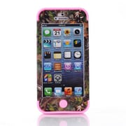 IPM Camouflage RealTree Rugged Protective Case for iPhone 5c, Pink
