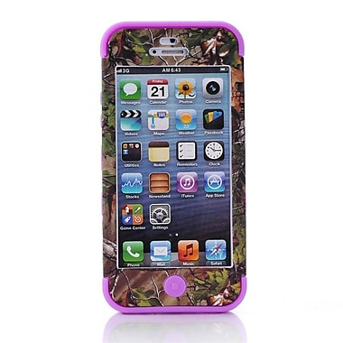 IPM Camouflage RealTree Rugged Protective Case for iPhone 5c, Purple
