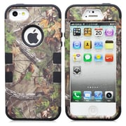 IPM Camouflage RealTree Rugged Protective Case for iPhone 5/5s, Black